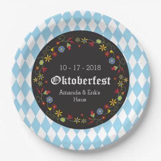 Octoberfest, Oktoberfest Party Plates - Customise