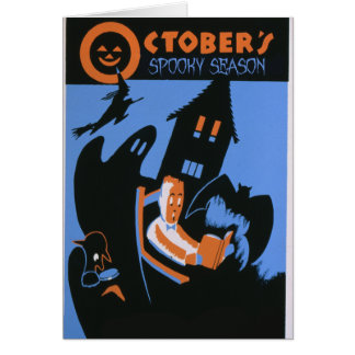 October's Spooky Season Card