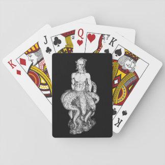 Octoman Merman Playing Cards