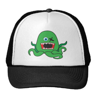 octomonster green ai mesh hat