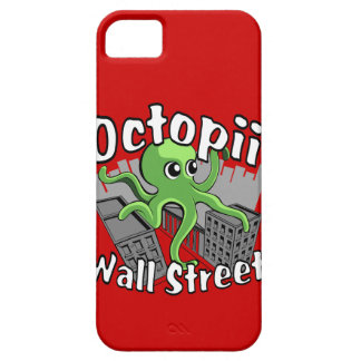 Octopii Wall Street - Occupy Wall St! iPhone 5 Cover