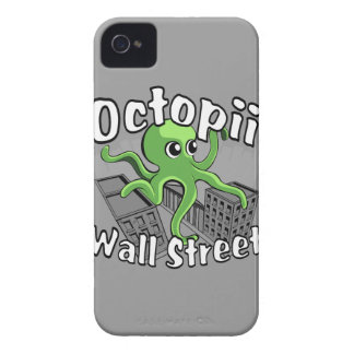 Octopii Wall Street - Occupy Wall St! iPhone 4 Cover
