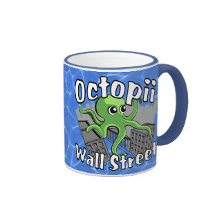 Octopii Wall Street - Occupy Wall St! Mug