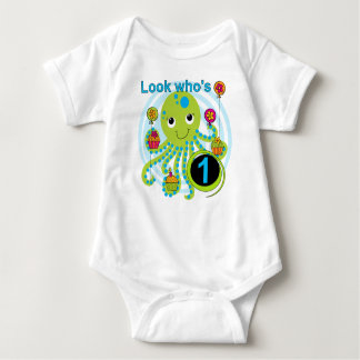Octopus 1st Birthday T-shirts and Gifts