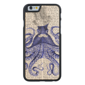 Octopus About Town Carved® Maple iPhone 6 Case