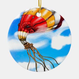 Octopus Balloon Christmas Ornament