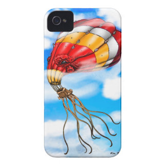 Octopus Balloon iPhone 4 Case-Mate Case