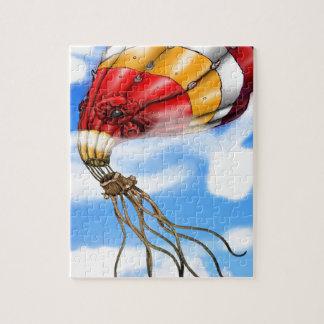 Octopus Balloon Jigsaw Puzzle