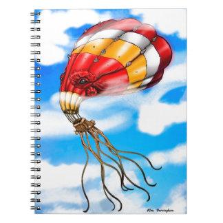 Octopus Balloon Notebook
