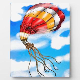 Octopus Balloon Plaque