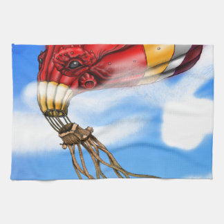 Octopus Balloon Tea Towel