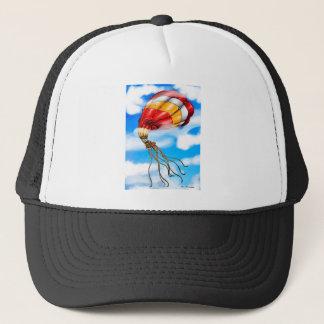 Octopus Balloon Trucker Hat