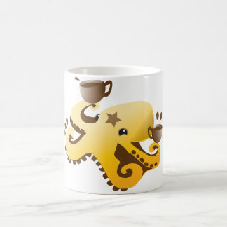 Octopus Barista Morphing Mug