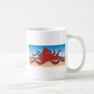 Octopus Basic White Mug