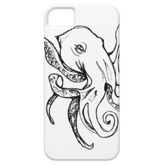 Octopus BLACK Barely There iPhone 5 Case