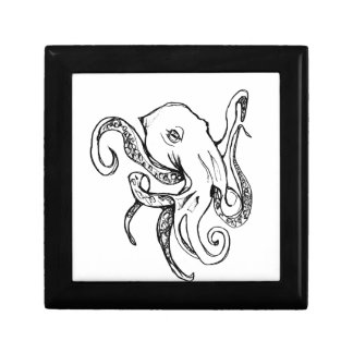 Octopus BLACK Gift Box