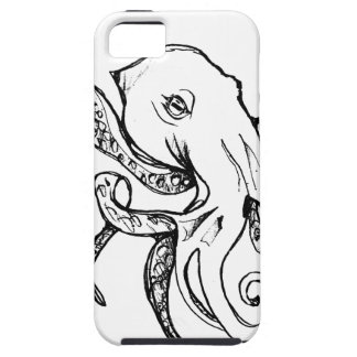 Octopus BLACK iPhone 5 Cover
