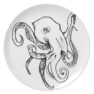 Octopus BLACK Plate