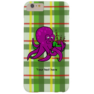 Octopus Blowing Making Music On Bagpipes Barely There iPhone 6 Plus Case