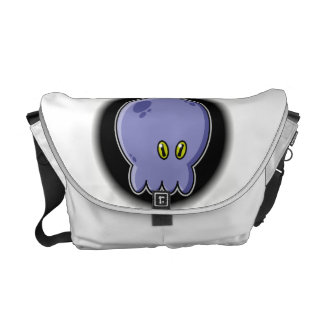 Octopus blue courier bag