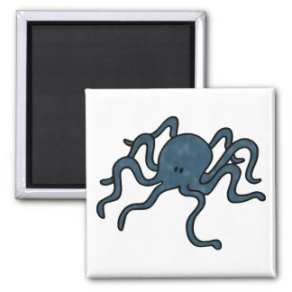 Octopus Blue Magnet