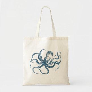 octopus_blue tote bag