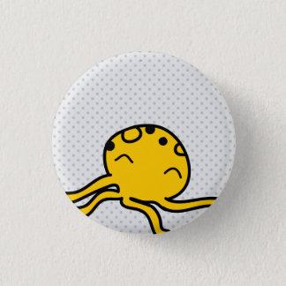Octopus Button Badge