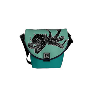 Octopus Design Bag Messenger Bag