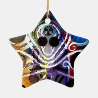 Octopus DJ V1 Christmas Ornament