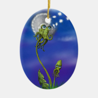 Octopus Dreams Christmas Ornament