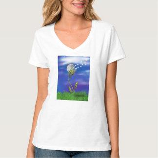 Octopus Dreams Dandelion T-Shirt