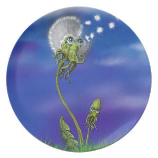 Octopus Dreams Plate