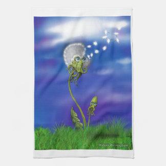 Octopus Dreams Tea Towel