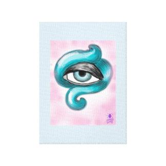 Octopus Eye Canvas Print