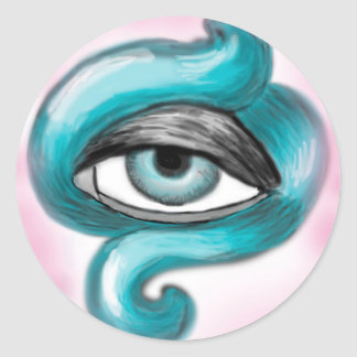 Octopus Eye to sticker