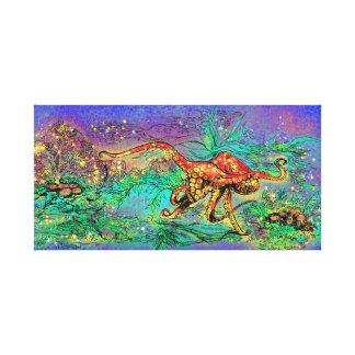 Octopus Garden Gallery Wrap Canvas