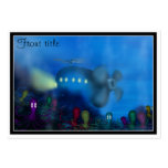 Octopus' Garden Large Business Cards (Pack Of 100)