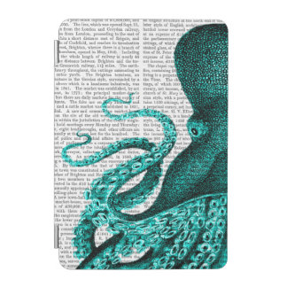 Octopus Green Half iPad Mini Cover