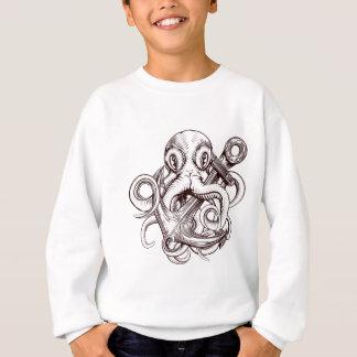 Octopus Holding Anchor Sweatshirt
