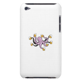 Octopus Holding Mug of Beer Tentacles iPod Touch Case-Mate Case