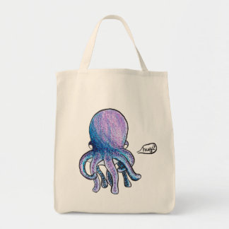 Octopus Hugs Tote Bag
