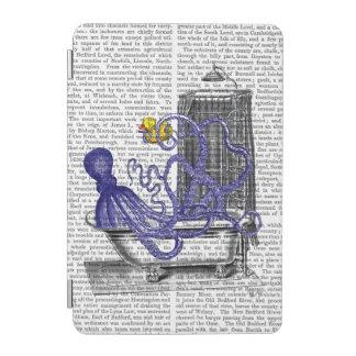 Octopus in Bath 2 iPad Mini Cover