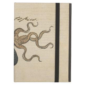 Octopus Kraken vintage scientific illustration Case For iPad Air