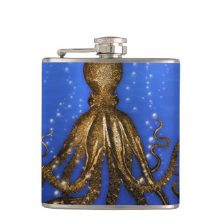 Octopus' Lair - Colorful Flask