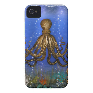 Octopus' Lair - Colorful iPhone 4 Cases