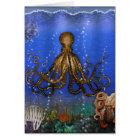 Octopus' Lair - Colourful Card
