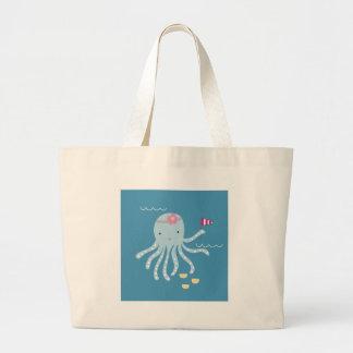 Octopus Large Tote Bag