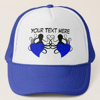 Octopus Love Blue - Trucker Hat