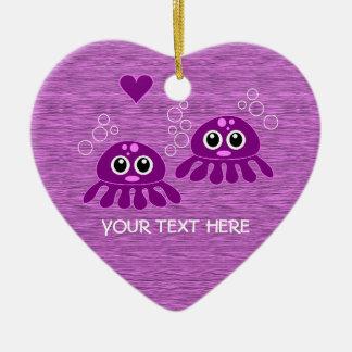 Octopus Love custom ornament