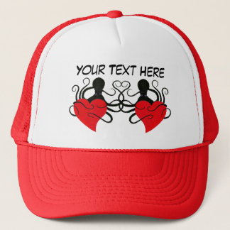 Octopus Love Red - Trucker Hat